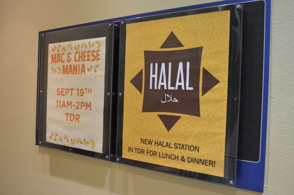 University adds permanent section to Terrace Dining Room dedicated to halal food