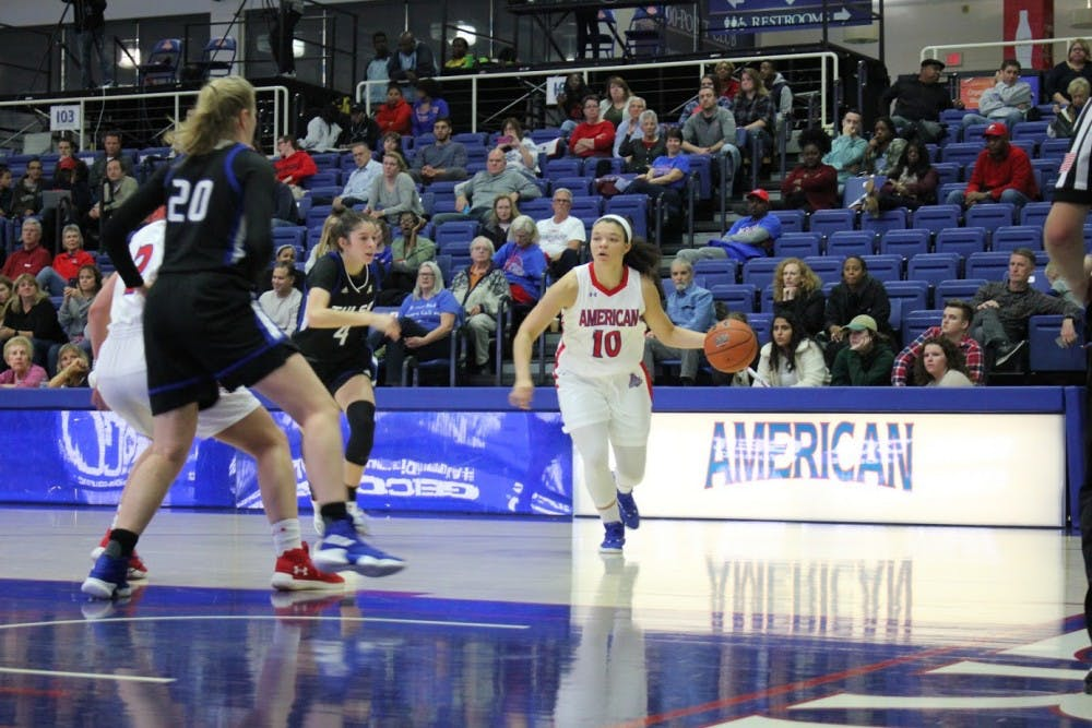 Women's basketball mounts comeback to beat High Point