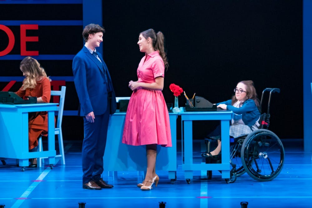 """How to Succeed in Business"" succeeds in capturing the audience's hearts"