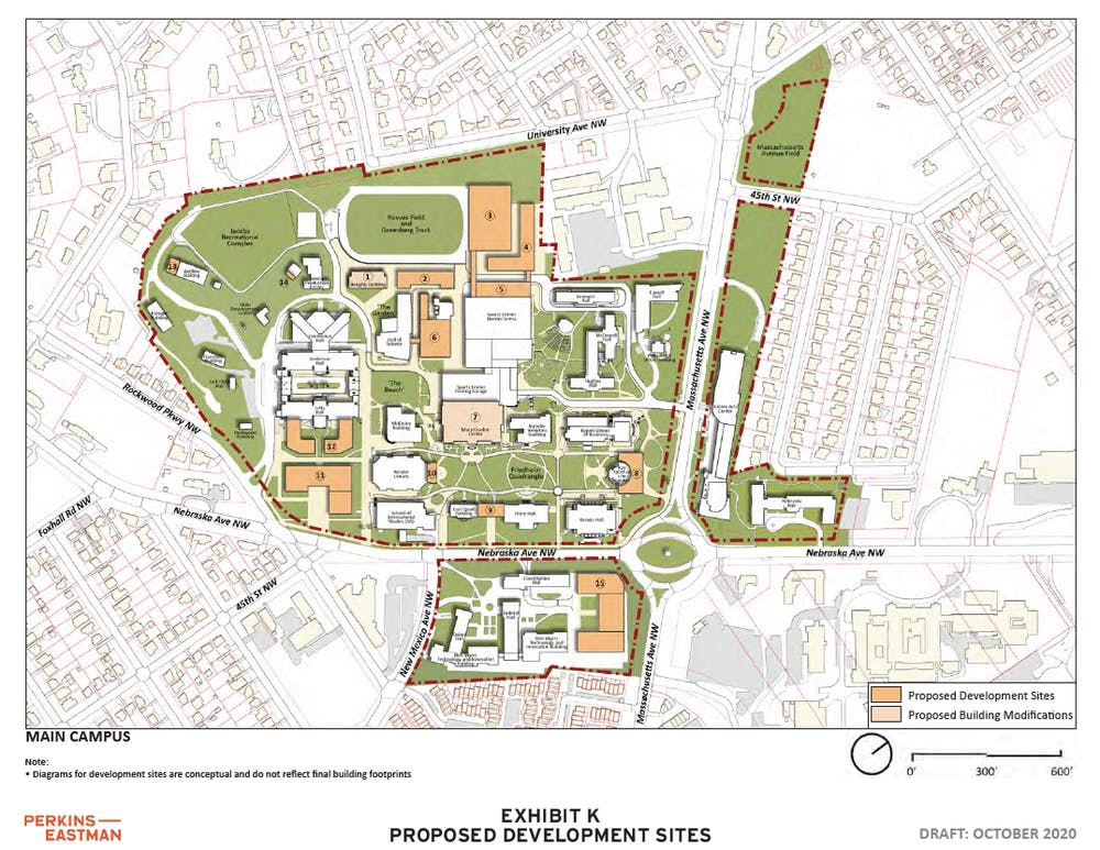 AU files campus plan with D.C. Zoning Commission. Community critics say plan still needs work.