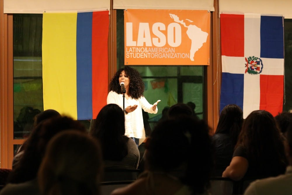 "LASO presents ""Latino Voices: A Night of Poetry"""