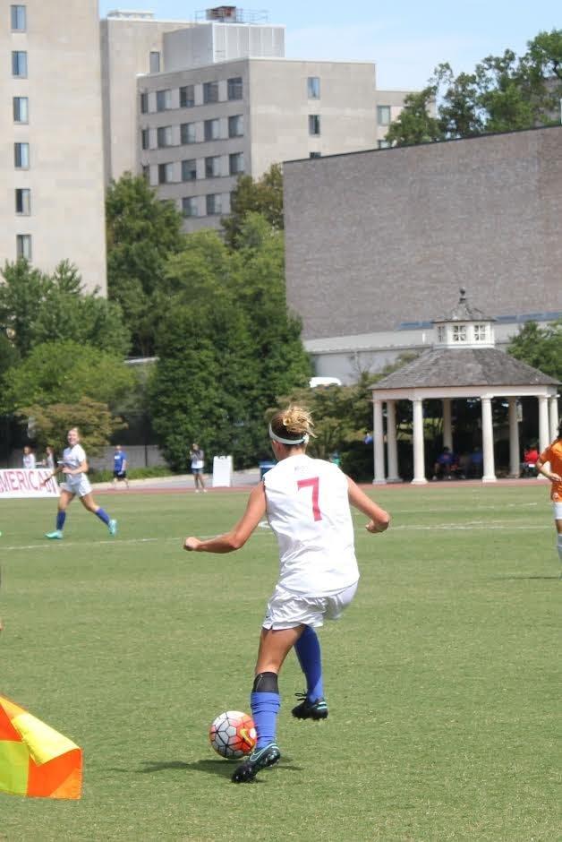 Women's soccer loses Patriot League opener