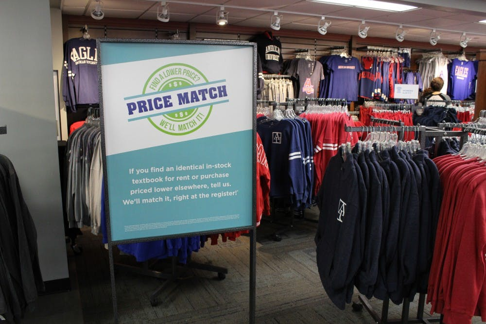 AU bookstore adopts textbook price match policy