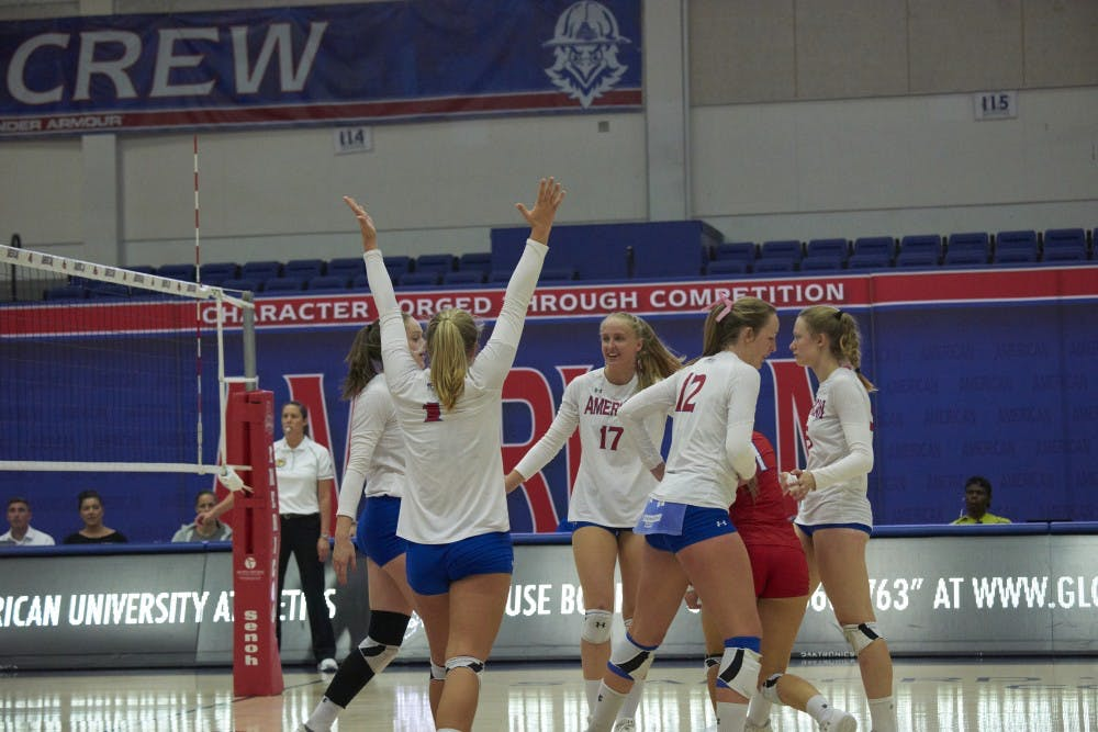 Volleyball beats Colgate 3-1 in a triumphant comeback