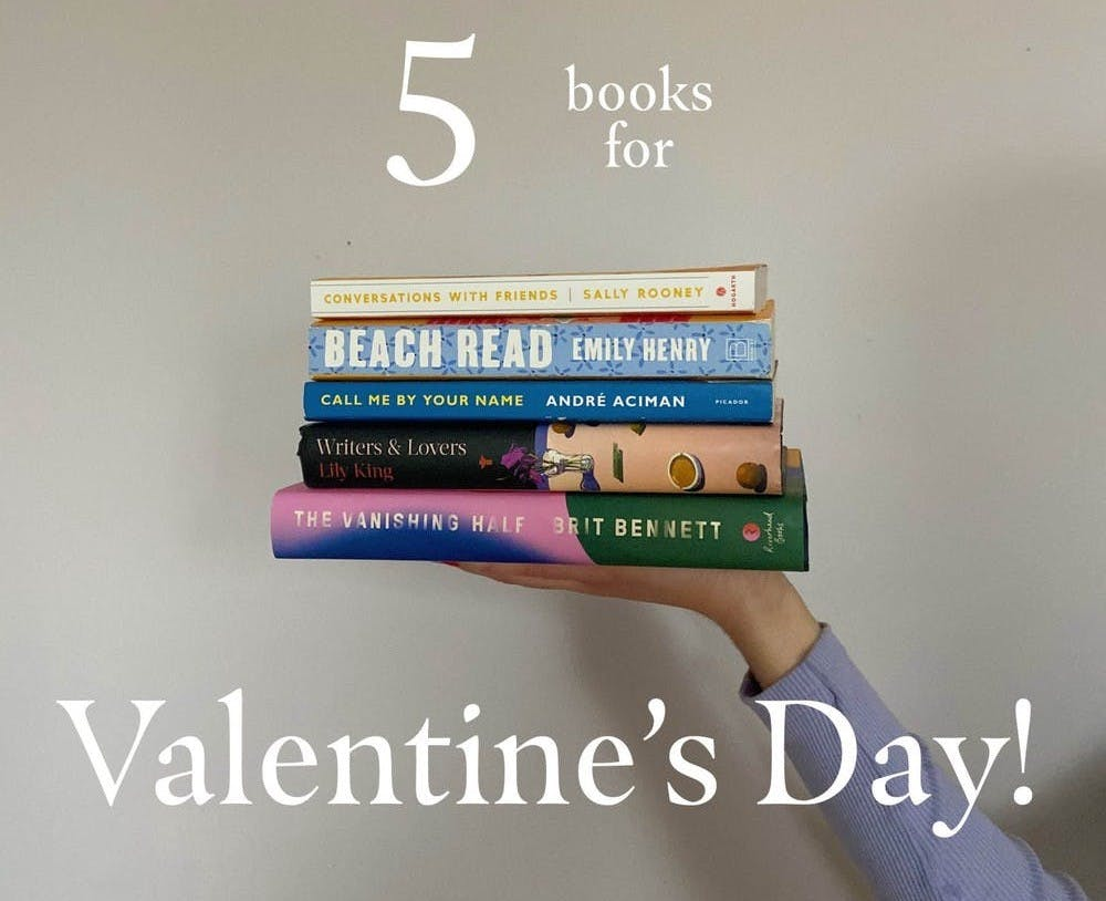 Five book recommendations for this Valentine's Day