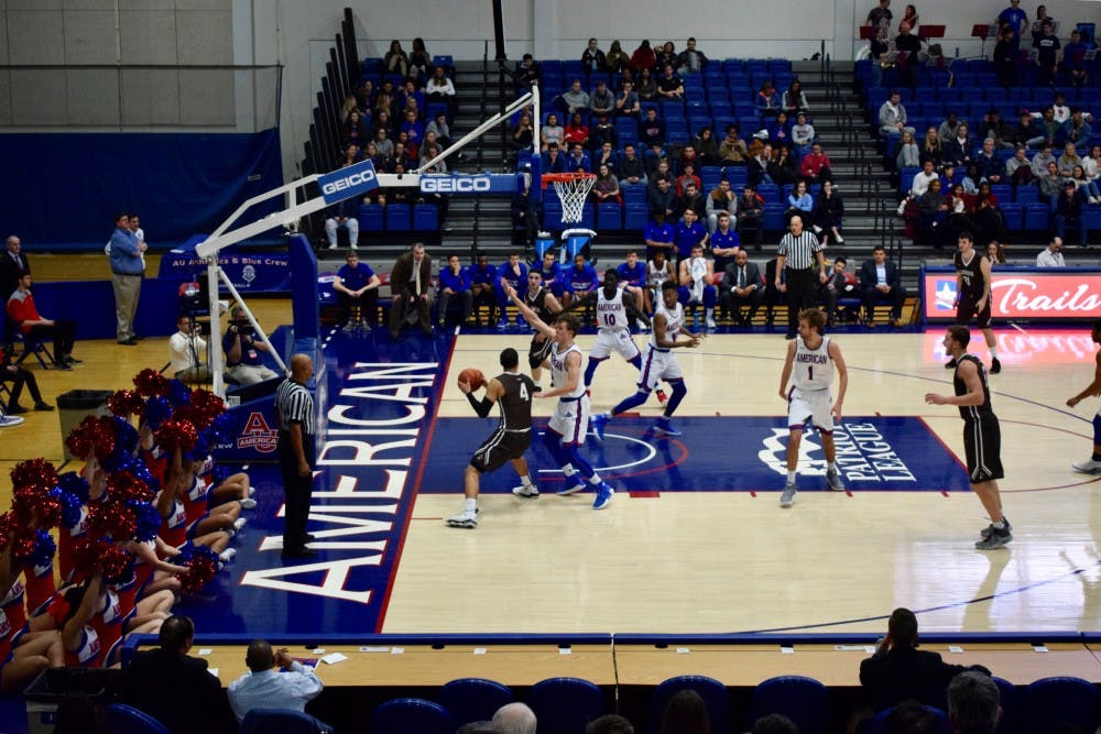 AU men's basketball defeats conference-best Bucknell at home