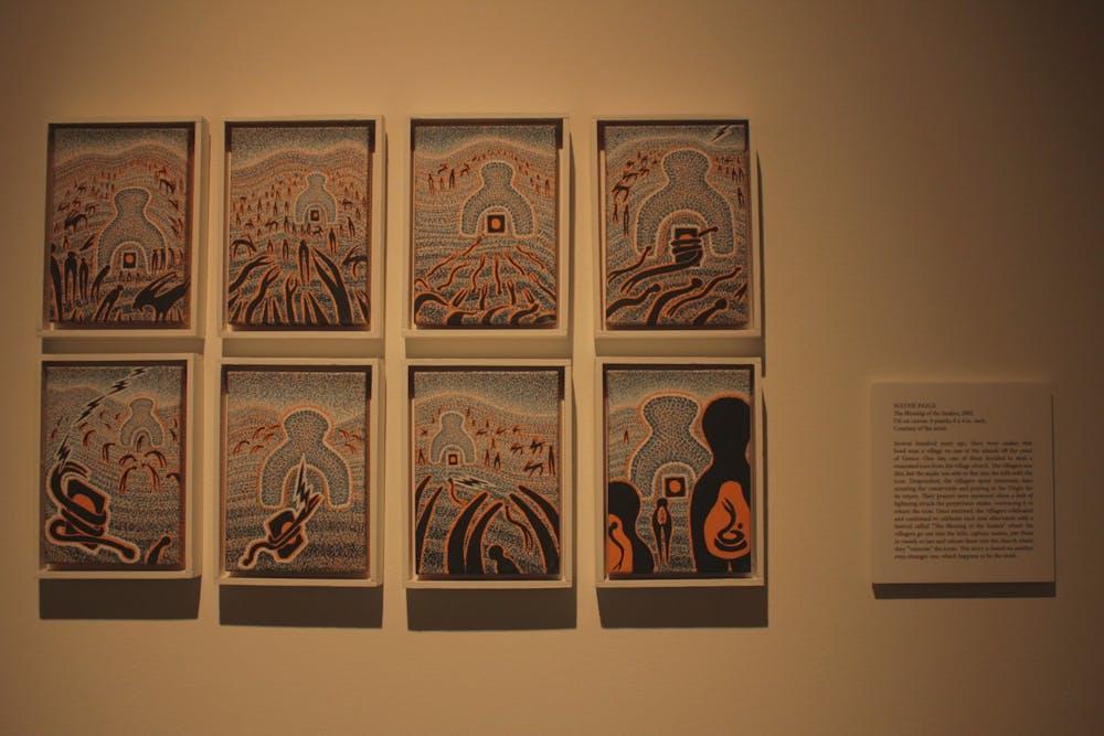 Katzen Arts Center debuts new winter exhibits
