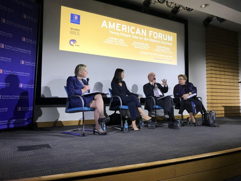 Pollsters, journalist size up major issues in upcoming midterm elections at American Forum event