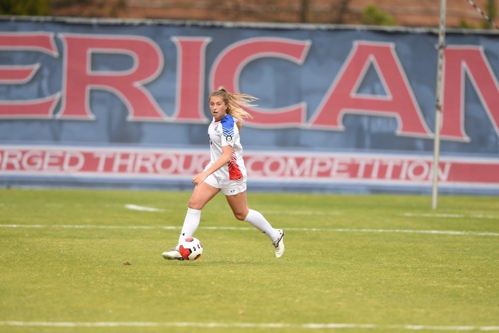 Women's soccer ends season in 2OT draw against Navy