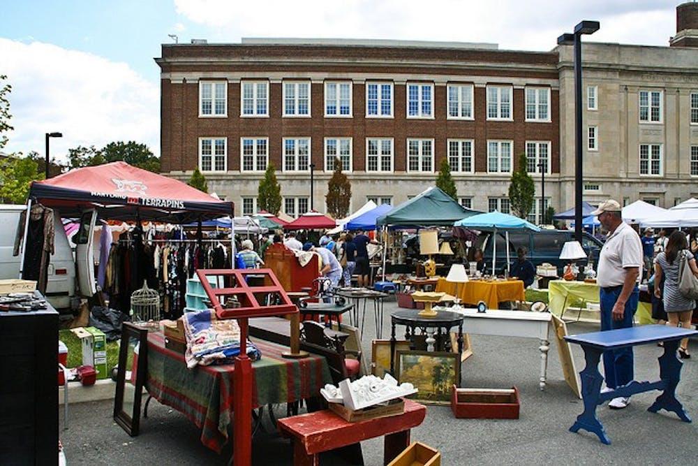 Flea and Feed: Exploring Georgetown Flea Market - The Eagle