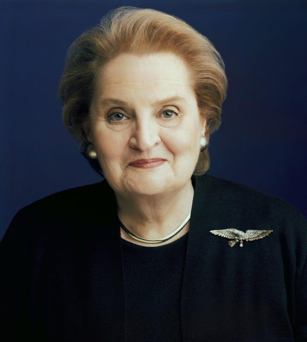 Op-ed: Protest Madeleine Albright's October visit to AU