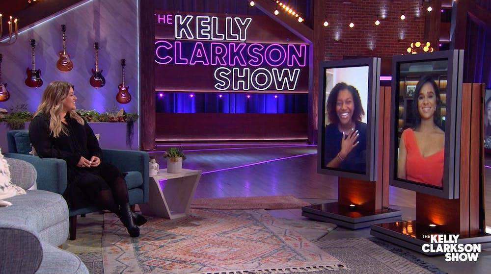 AU freshman's nonprofit Ngoma Kenya highlighted on 'The Kelly Clarkson Show'