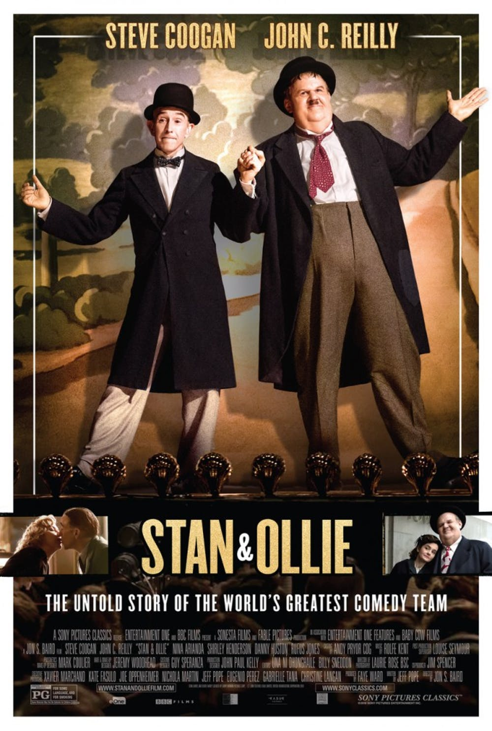 """Jon Baird finds tenderness and humor in """"Stan & Ollie"""""""