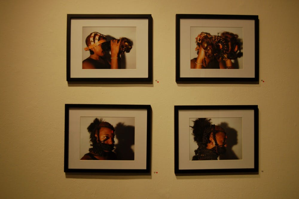 """Review: Art exhibit """"Public Displays of Privacy"""" raises questions about women, race and society"""