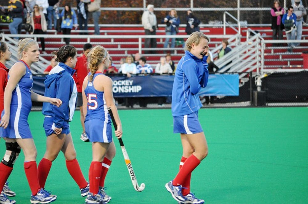 Field Hockey's strong season cut short by UConn Huskies