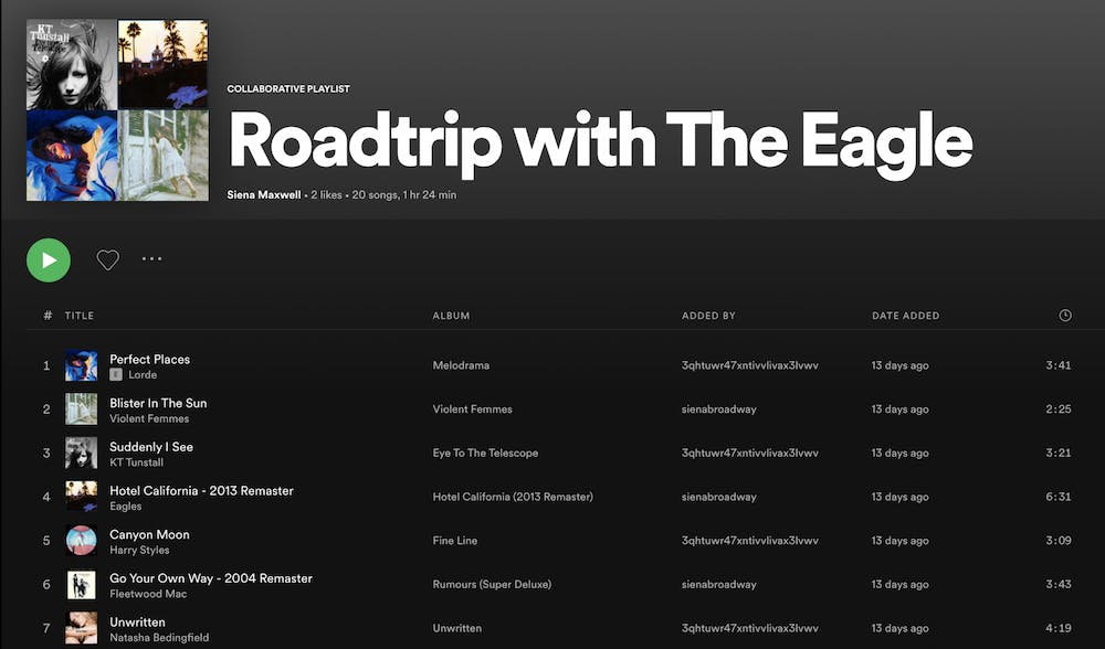 A road trip playlist for a summer of better days