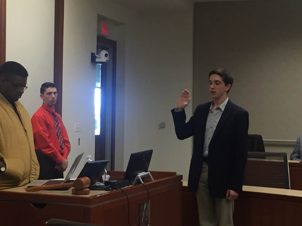 Noah Wills confirmed as new speaker of Undergraduate Senate