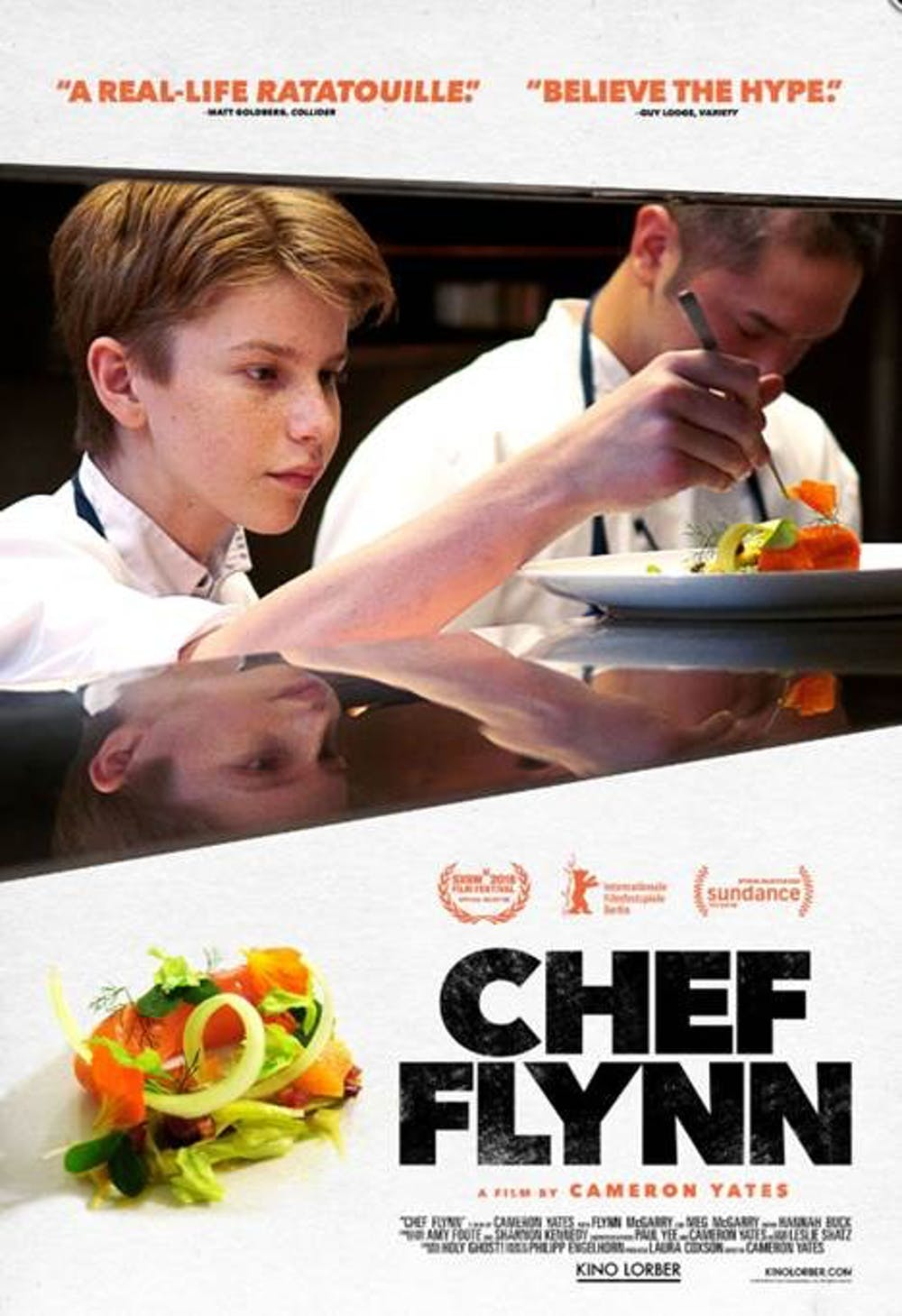 "A mother and son defy the restaurant world in ""Chef Flynn"""