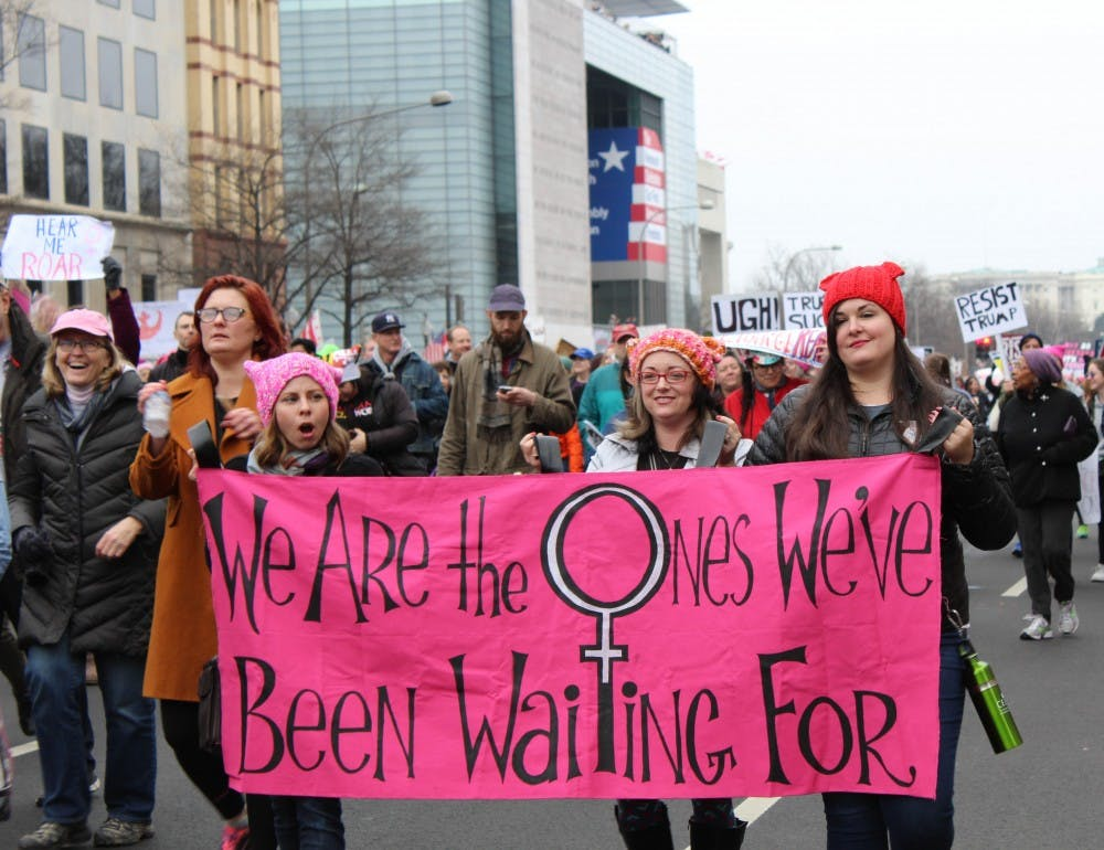 AU sorority members fight to change recruitment dates so students can attend Women's March