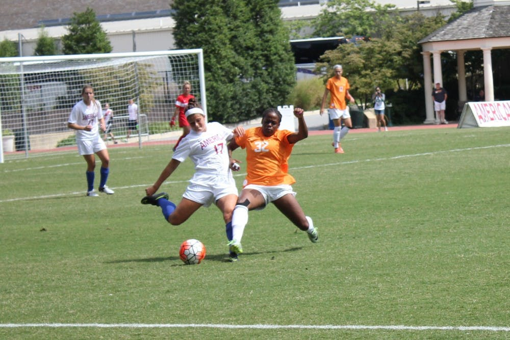AU women's soccer loses sixth consecutive game