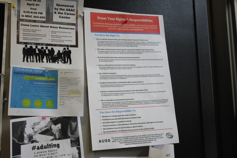 Following controversy, student rights cards are being installed across campus