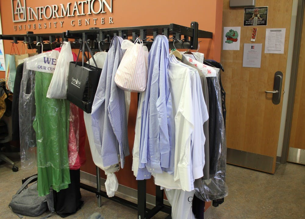 AUSG holds formal attire clothing drive for Founder's Day
