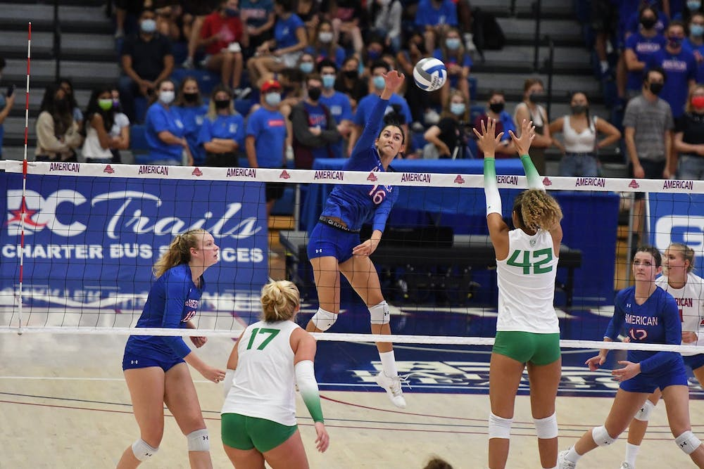 Oregon sweeps American in highly anticipated game