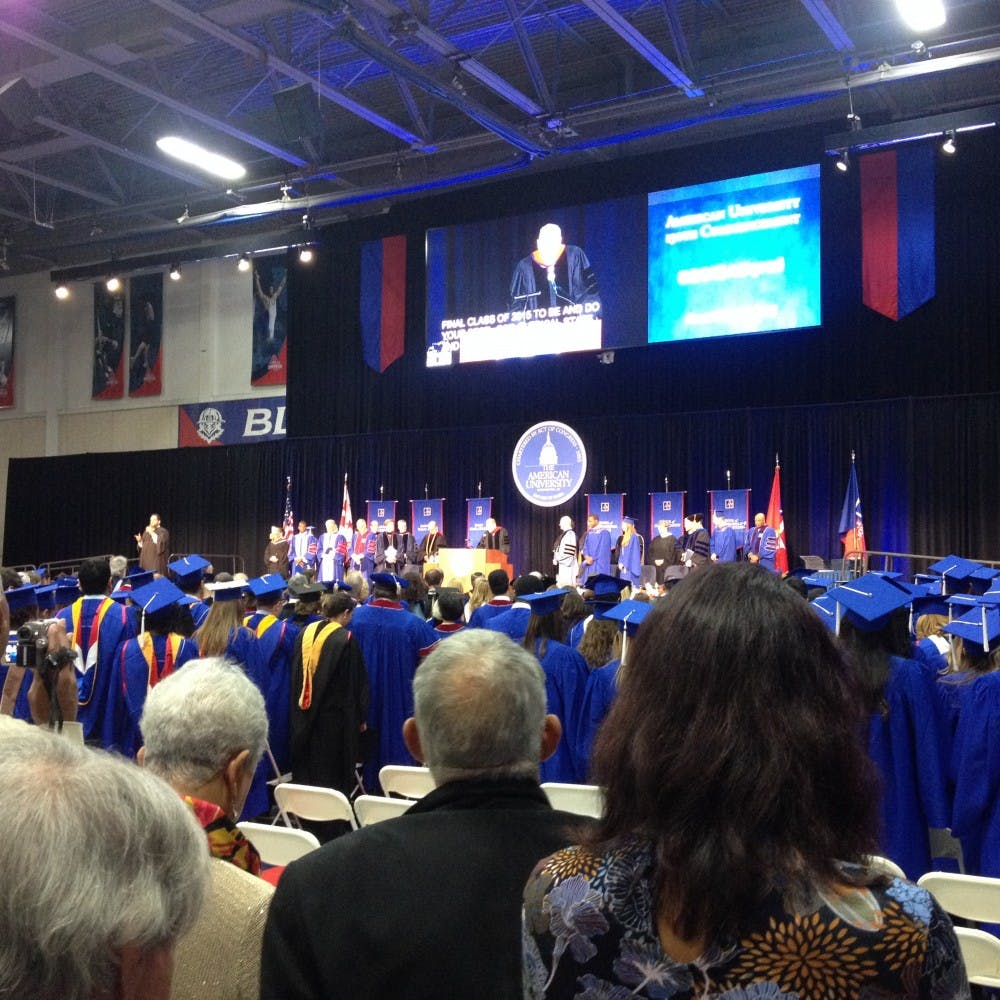 AU's summer and fall graduates celebrated at December commencement