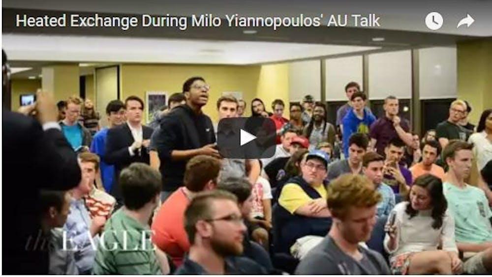 Heated Exchange at AU Milo Event