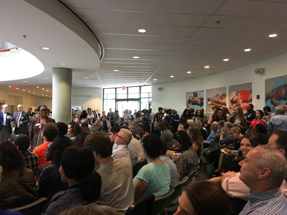 Students and administrators gather for town hall to discuss diversity and inclusion on campus