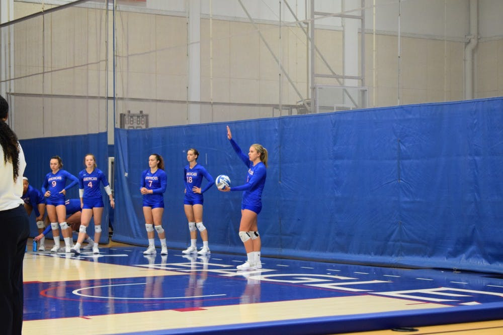 Women's Volleyball sweeps crucial Patriot League matches