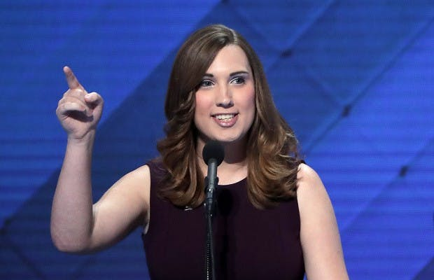 AU alum Sarah McBride reflects on becoming first transgender person to address national convention