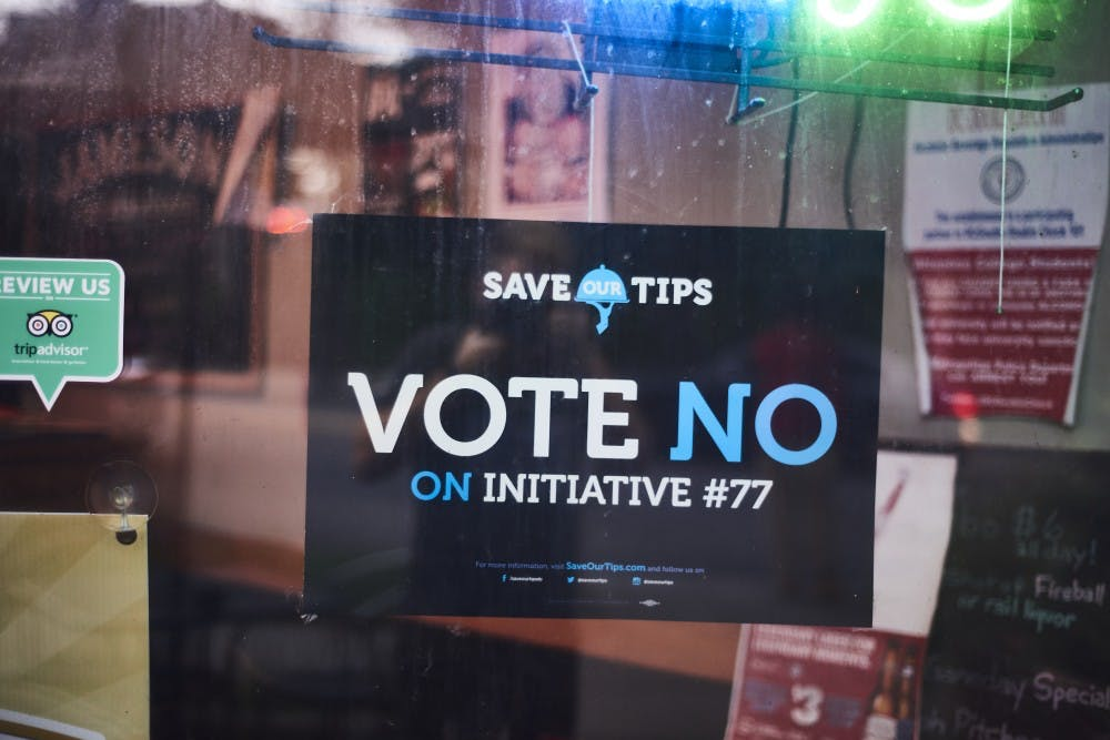 How AU students and local restaurateurs feel about the overturned Initiative 77