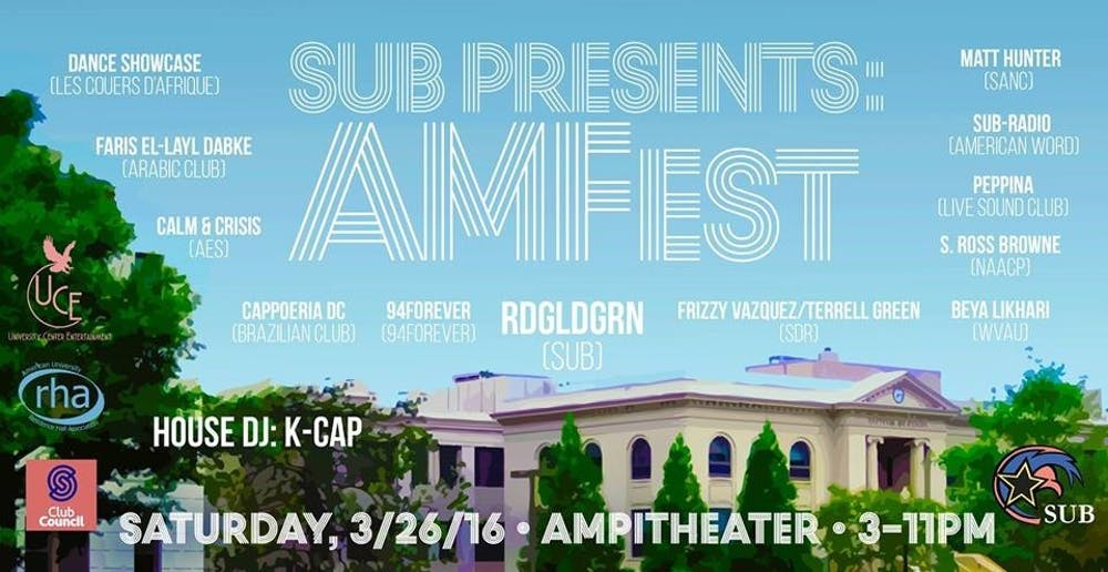 SUB announces AMFest, first ever arts and music festival