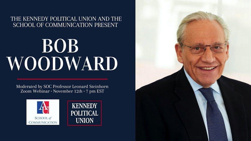 Pulitzer-prize winning journalist Bob Woodward to speak at Nov. 12 virtual event