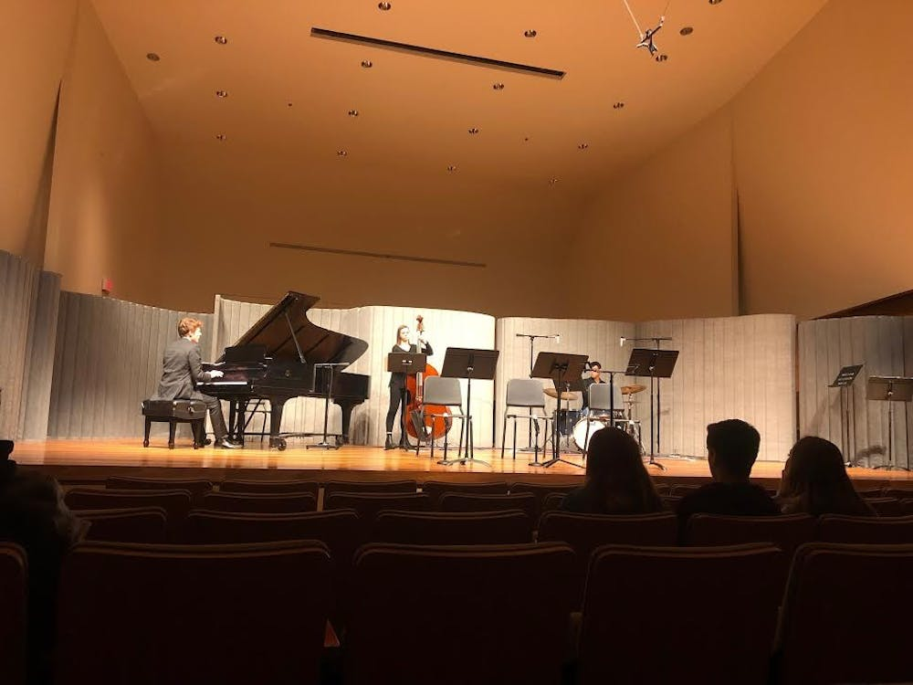 Student musicians explore the stage as 'shared space' in AU workshop