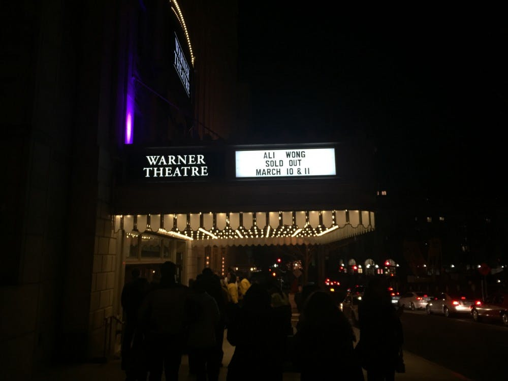 Comedian Ali Wong holds sold-out show at Warner Theater