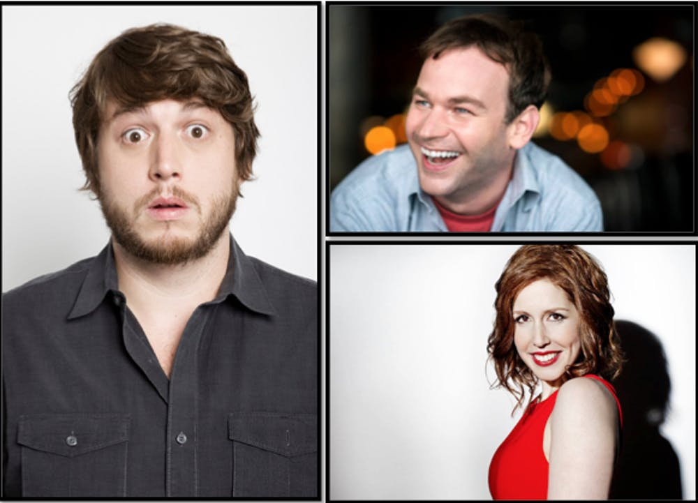 SUB to bring comedians Vanessa Bayer, Mike Birbiglia and Streeter Seidell to AU