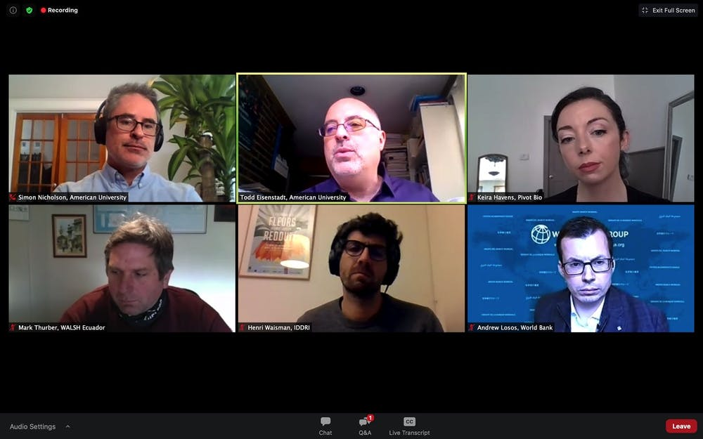 SPA webinar panelists discuss sectoral approaches to decarbonization