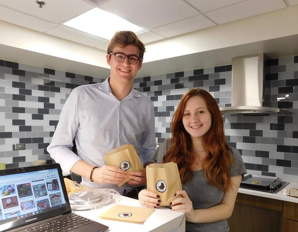 'Max's Homemade Cookies' delivers warm cookies to freshmen right to their door