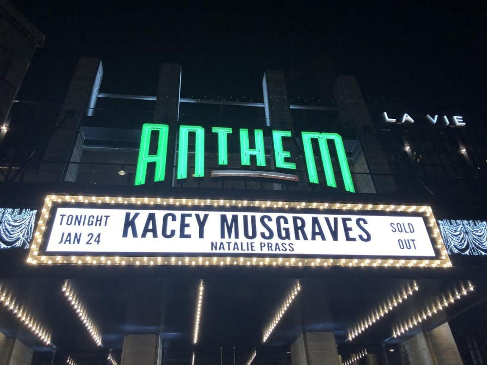 Kacey Musgraves brings dreamy country-pop to D.C.