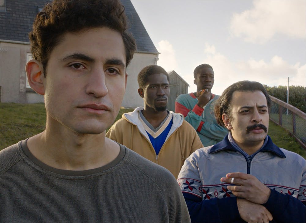 """Limbo"" tells a refugee story with incredible visuals and hilariously bone-dry humor"