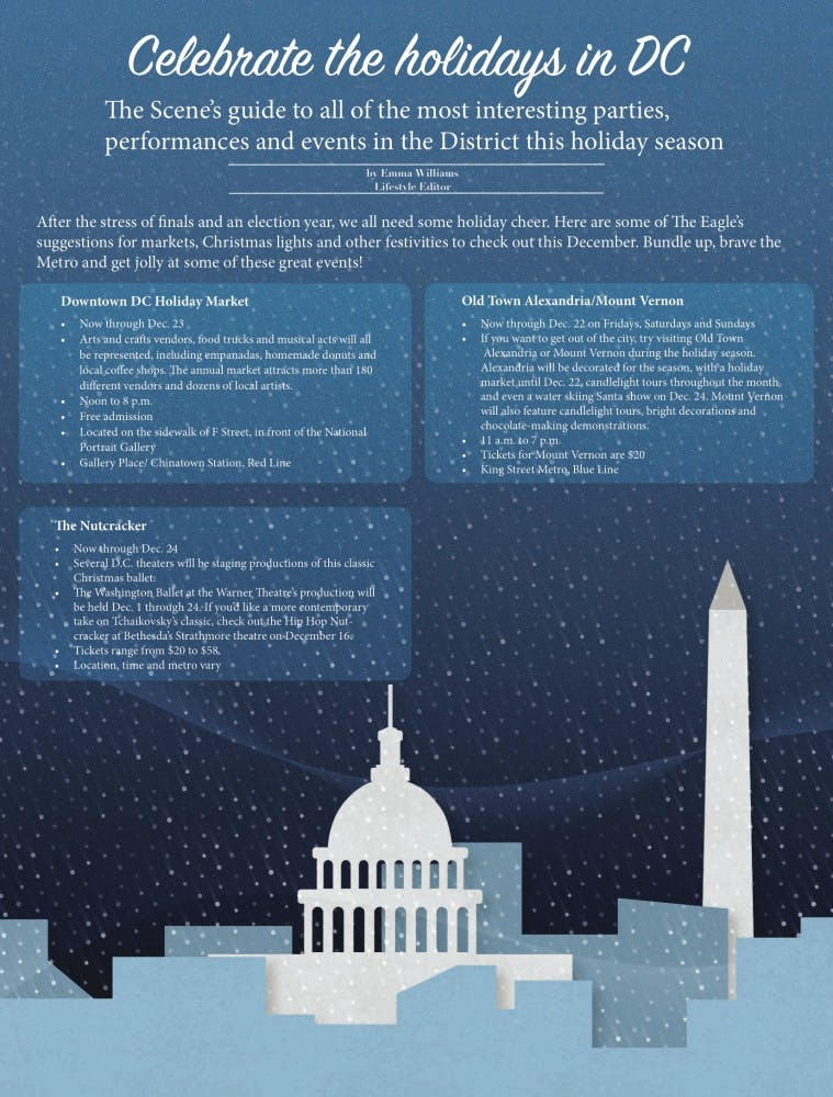 Straight from print: Celebrate the holidays in DC