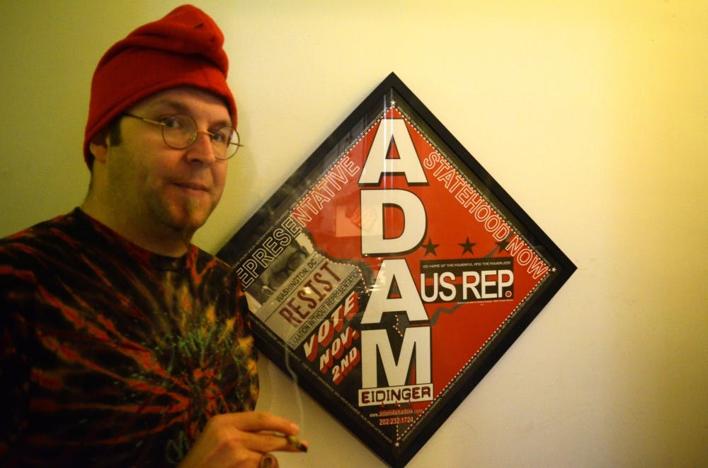 Watch: AU alumnus Adam Eidinger, chairman of the D.C. Marijuana campaign