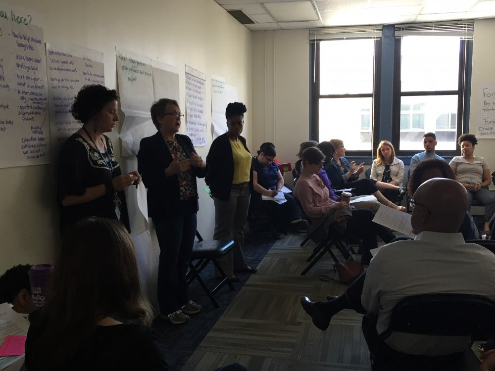 Workshop for American University community tackles recent hate crime and campus race issues