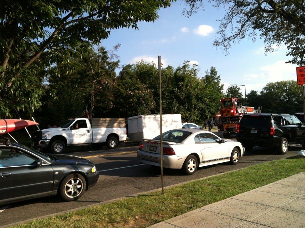 Man injured in car accident on Nebraska Avenue