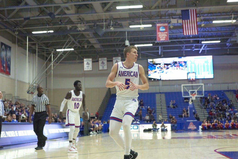 From NAIA to the Big Time: Guard Larry Motuzis finds his niche at AU