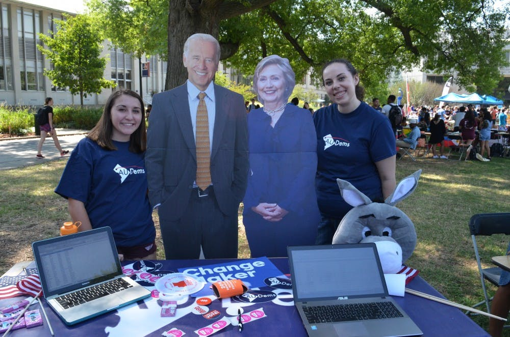 College Democrats and Republicans gear up for election day