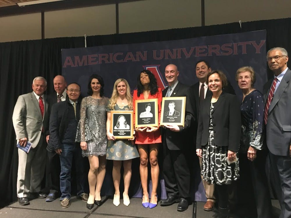 AU Hall of Fame induction highlights three storied athletic careers