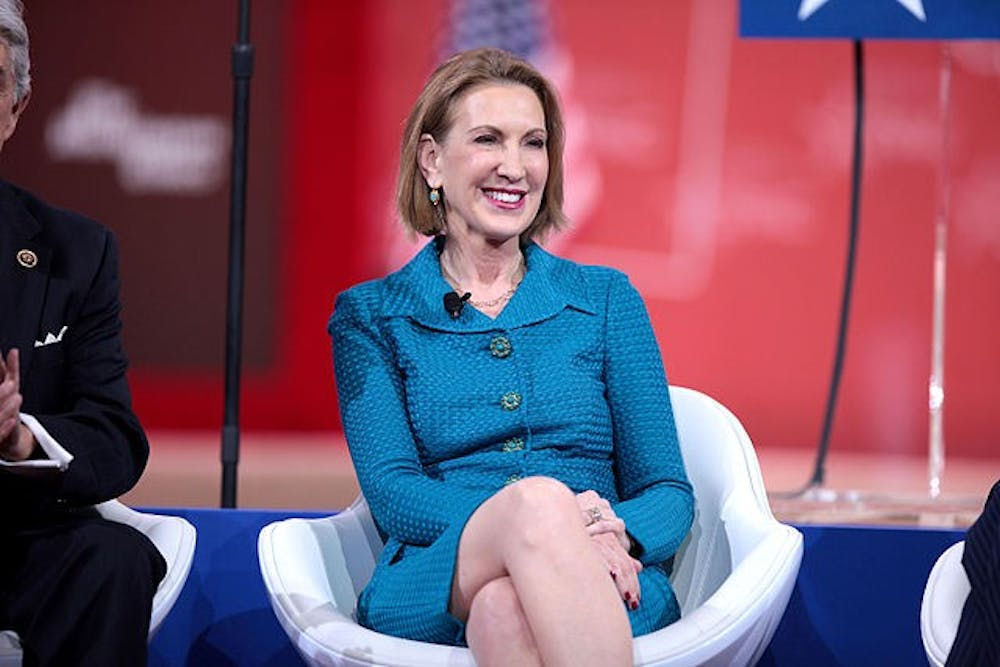 Former presidential candidate Carly Fiorina to speak at AU Thursday